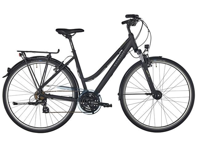 """Kalkhoff Voyager 21 Trapez - Vélo de trekking - 28"""" noir"""